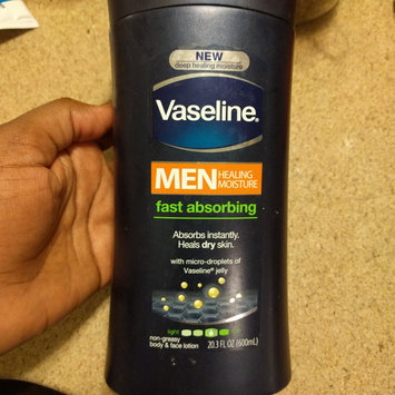 Photo of Vaseline® Men Healing Moisture Fast Absorbing Lotion uploaded by leena h.