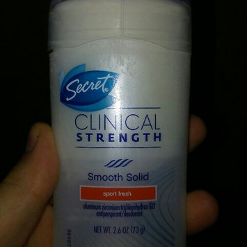Photo of Secret® Clinical Strength Smooth Solid Women's Antiperspirant & Deodorant Fearlessly Fresh Scent uploaded by Jamie H.