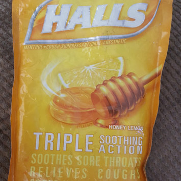 Photo of HALLS Honey Lemon Cough Menthol Drops uploaded by Cyndia G.