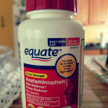 Photo of Equate Acetaminophen Pain Reliever/Fever Reduction uploaded by Karla F.