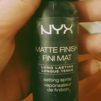 NYX Cosmetics Makeup Setting Spray - Matte Finish uploaded by jordan h.
