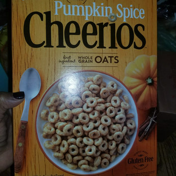 Photo of Cheerios Pumpkin Spice Cereal uploaded by Keia R.