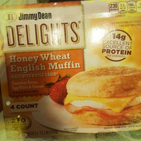Jimmy Dean Delights Honey Wheat Muffin Canadian Bacon, Egg White & Cheese - 4 CT uploaded by Jackie K.