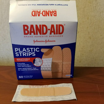 Photo of Band-Aid Plastic Brand Adhesive Bandages Plastic Strips uploaded by Amber M.