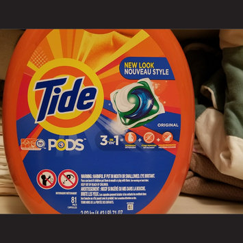 Photo of Tide PODS® Laundry Detergent Original Scent uploaded by Annie G.