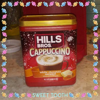 Hills Bros White Chocolate Caramel Cappuccino 16 Oz Plastic Container uploaded by Tiffany T.