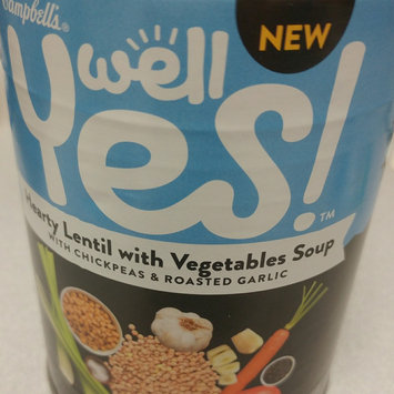 Campbell's® Well Yes!™ Hearty Lentil with Vegetables Soup, 16.3 oz. uploaded by Jennifer F.