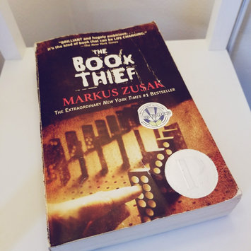Photo of The Book Thief by Zusak, Markus [Paperback] uploaded by Amber M.