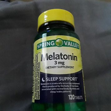 Photo of SPRING VALLEY® Melatonin Tablets uploaded by afton h.