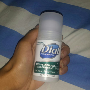 Photo of Dial DPR07686 Anti-Perspirant Deodorant, Crystal Breeze, 1.5 oz, Roll-On, 48 Per Carton uploaded by Anyi Mabel C.