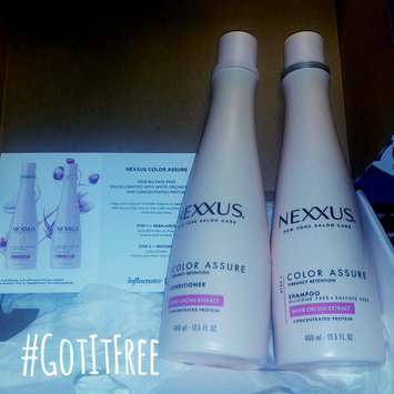 Photo of NEXXUS® COLOR ASSURE SHAMPOO FOR COLORED HAIR uploaded by Misty J.
