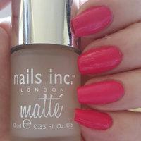 nails inc. Westminster Bridge Matte Effect Top Coat 0.33 oz uploaded by Ann marie H.