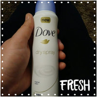 Dove® Original Clean Soft Dry Spray Antiperspirant Deodorant uploaded by Trista K.