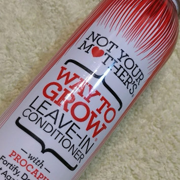 Photo of Not Your Mother's® Way to Grow Leave-In Conditioner uploaded by Jade T.