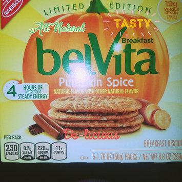 Photo of Nabisco belVita Breakfast Biscuits Pumpkin Spice uploaded by Nicole A.