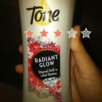 Tone® Radiant Glow Diamond Dust & Lotus Blossom Illuminating Body Wash 16 fl. oz. Bottle uploaded by Ashlie H.