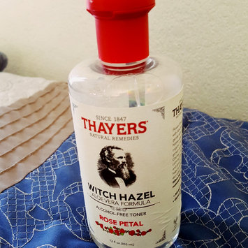 Photo of Thayers Alcohol-Free Rose Petal Witch Hazel Toner uploaded by Jeannette P.