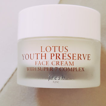 Photo of fresh Lotus Youth Preserve Face Cream uploaded by Jeannette P.