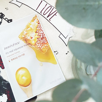 Photo of Innisfree It's Real Squeeze Mask 5pcs (Manuka Honey) uploaded by Coffee ☆.