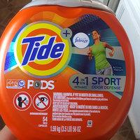 Tide PODS® Plus Febreze Sport Odor Defense™ Laundry Detergent uploaded by Jeannette P.