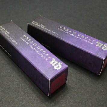 Photo of Urban Decay Sheer Revolution Lipstick uploaded by Alex T.
