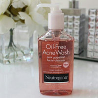 Neutrogena® Oil-Free Acne Wash Pink Grapefruit Cream Cleanser uploaded by Oleydis Carolina R.