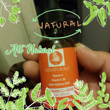 Photo of OZ Naturals- THE BEST Vitamin C Serum For Your Face Contains Clinical Strength 20% Vitamin C + Hyaluronic Acid Anti Wrinkle Anti Aging Serum For A Radiant & More Youthful Glow! Guaranteed The Best! (Packaging May Vary) uploaded by Laura G.