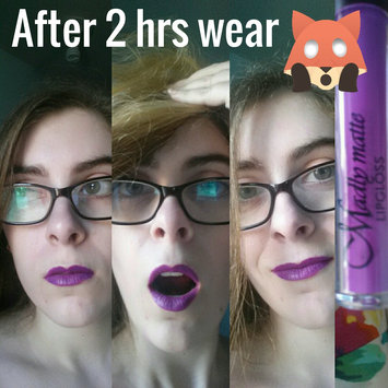 Photo of KLEANCOLOR Madly Matte Lip Gloss - Grape uploaded by Chiara R.