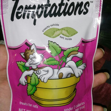 Photo of Whiskas Temptations Blissful Catnip Flavor Cat Treats uploaded by ashley p.