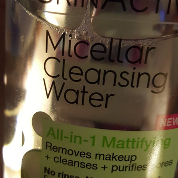 Garnier Skinactive Micellar Cleansing Water All-in-1 Mattifying uploaded by Tressa S.