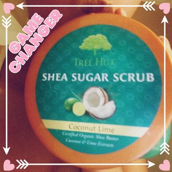 Photo of Tree Hut Coconut Lime Shea Sugar Scrub uploaded by Michelle A.