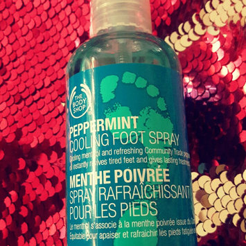Photo of THE BODY SHOP® Peppermint Cooling Foot Spray uploaded by Gabriela N.