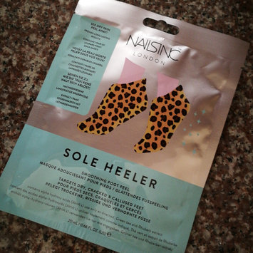 Photo uploaded to NAILS INC. Sole Heeler Foot Peel by Carol A.