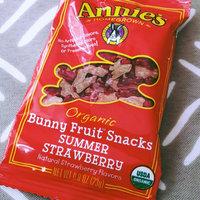 Annie's® Homegrown Summer Strawberry Organic Bunny Fruit  Snacks uploaded by Gabriela N.