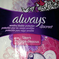 Always Discreet Very Light Liners – Long Length uploaded by Tiphie O.