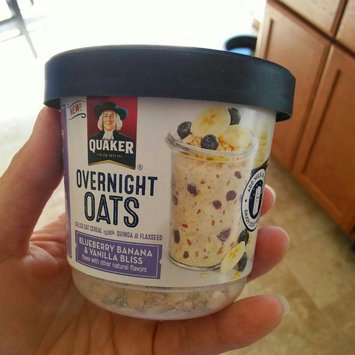 Photo of Quaker® Overnight Oats Blueberry, Banana, And Vanilla Bliss uploaded by Kate G.