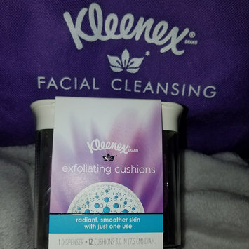 Photo of Kleenex Exfoliating Cushions, Refillable Dispenser & Pads uploaded by keren a.