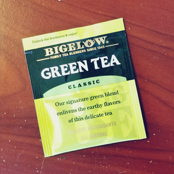 Photo of Bigelow Green Tea Bags uploaded by Amber M.