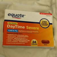 Equate Non-Drowsy DayTime Severe Cold & Flu Medicine Caplets, 24 count uploaded by Jade T.