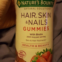 Nature's Bounty Optimal Solutions Hair, Skin and Nails Gummies - 220 Count uploaded by January G.