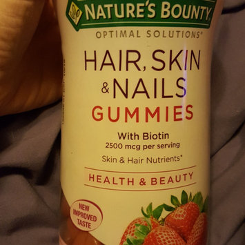 Photo of Nature's Bounty Optimal Solutions Hair, Skin and Nails Gummies - 220 Count uploaded by January G.