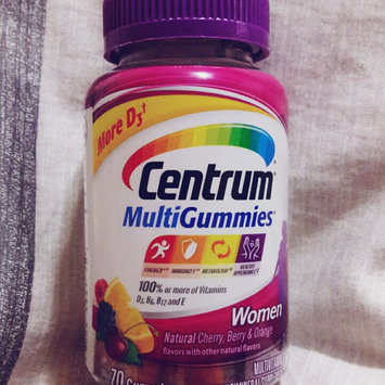 Centrum MultiGummies Women, Cherry, Berry, Orange uploaded by Gabriela N.