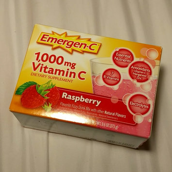 Photo of Emergen-C 1,000 mg Vitamin C Raspberry uploaded by Jade T.