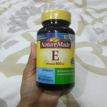 Nature Made E Vitamin 400 IU Liquid Softgels - 300 CT uploaded by Melody S.