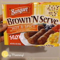 Banquet Brown 'N Serve Cooked Sausage Links Hot & Spicy - 10 CT uploaded by LaLa W.