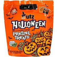 Utz Halloween Bat & Pumpkin Shaped Pretzel uploaded by Tara B.