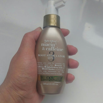 Photo uploaded to OGX® Niacin3 & Caffeine Root Stimulator Spray by sumayya t.