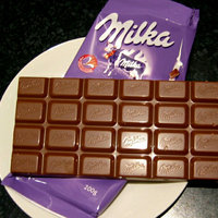 Milka Alpine Milk Chocolate Confection Bar uploaded by bossy o.