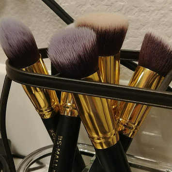 Photo of BS-MALL(TM) Premium Synthetic Kabuki Makeup Brush Set Cosmetics Foundation Blending Blush Eyeliner Face Powder Brush Makeup Brush Kit uploaded by Brittany D.