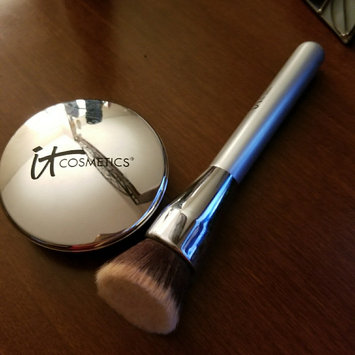 Photo of IT Cosmetics® Heavenly Luxe™ Flat Top Buffing Foundation Brush #6 uploaded by Lori M.